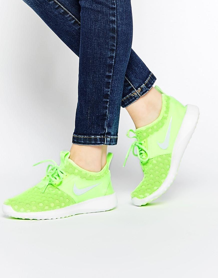 nike nike juvenate verde brillante formatori a asos s h o e s