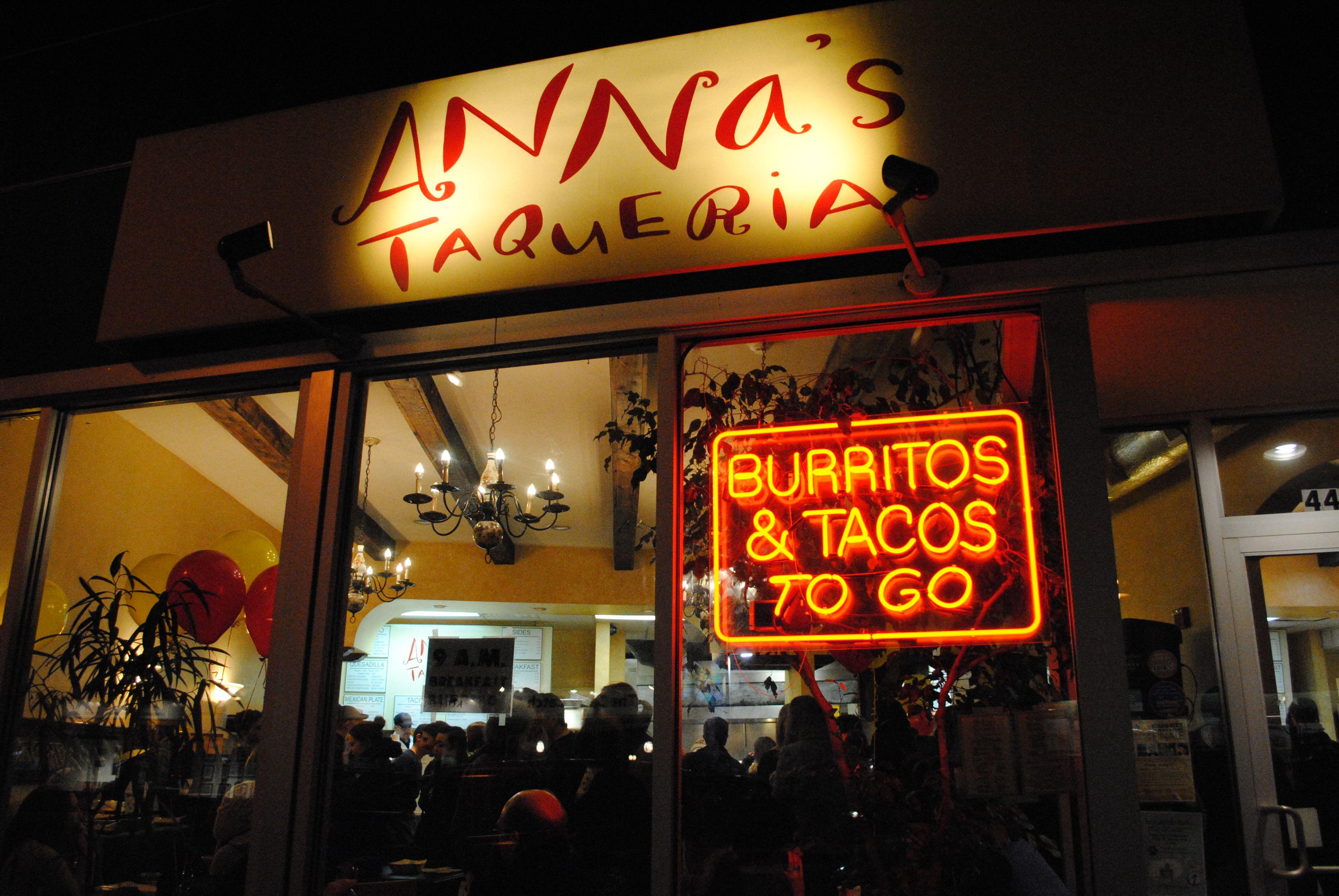 Anna's Taqueria Burrito Roll | Boston in 2019 | Burritos