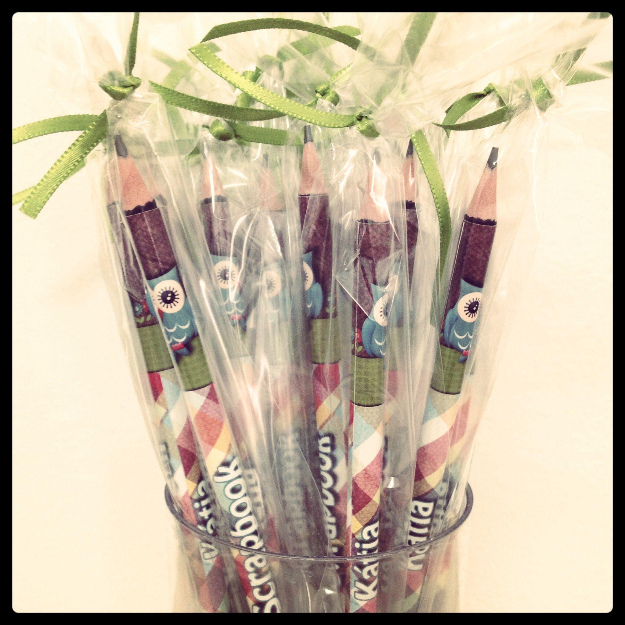 Lápis personalizado .