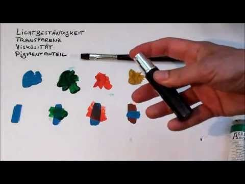 tipps f r anf nger der acrylmalerei 2 farben youtube leinwandbilder selber machen. Black Bedroom Furniture Sets. Home Design Ideas