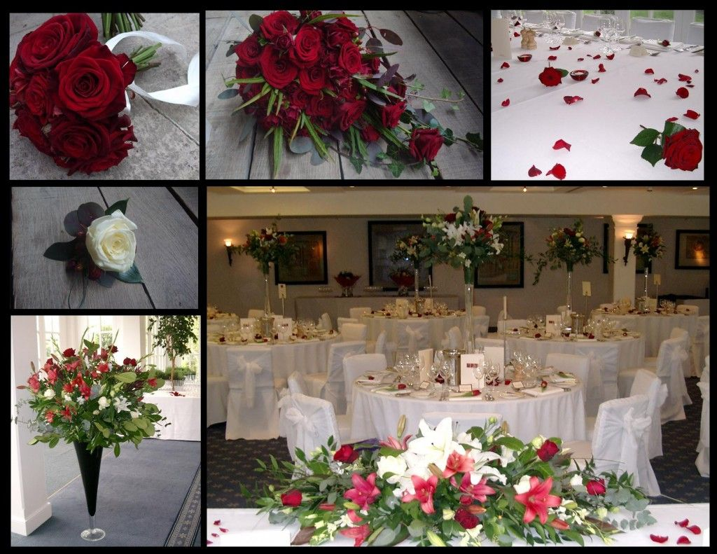 Hampton Court Palace Surrey Wedding Flower Ideas Winter Red Flowers For The Bridal