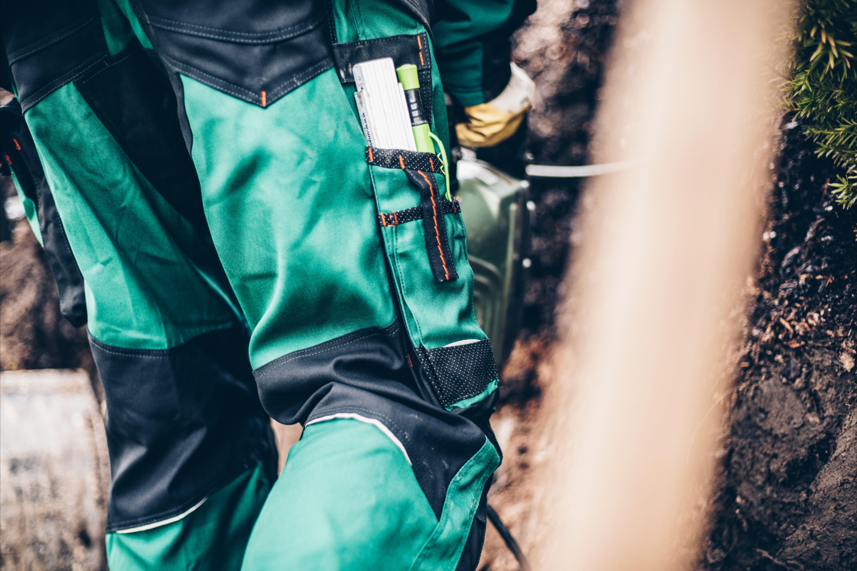 Mycore Force Air Bundhose Mit Knieverstarkung Beintasche Arbeitskleidung Hosen