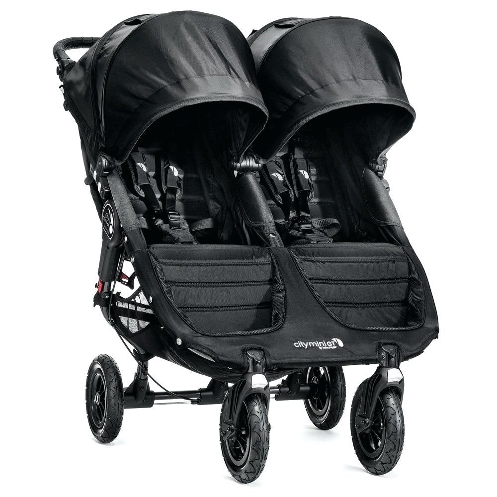 Wicker Kinderwagen Jogger City Mini Gt Double Black Trendy