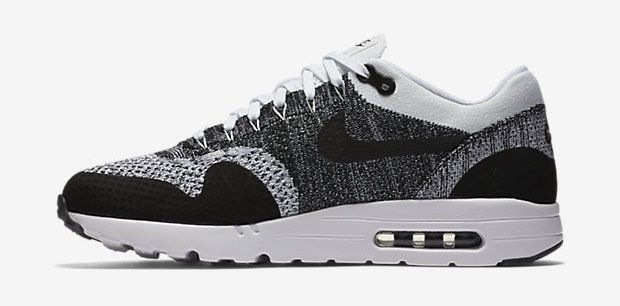 lowest price 580d0 4110c NIKE-AIR-MAX-1-ULTRA-FLYKNIT-noire grise