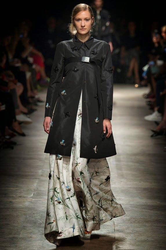 ANDREA JANKE Finest Accessories: ROCHAS Spring/Summer 2015