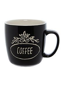 Coffee stamp mug