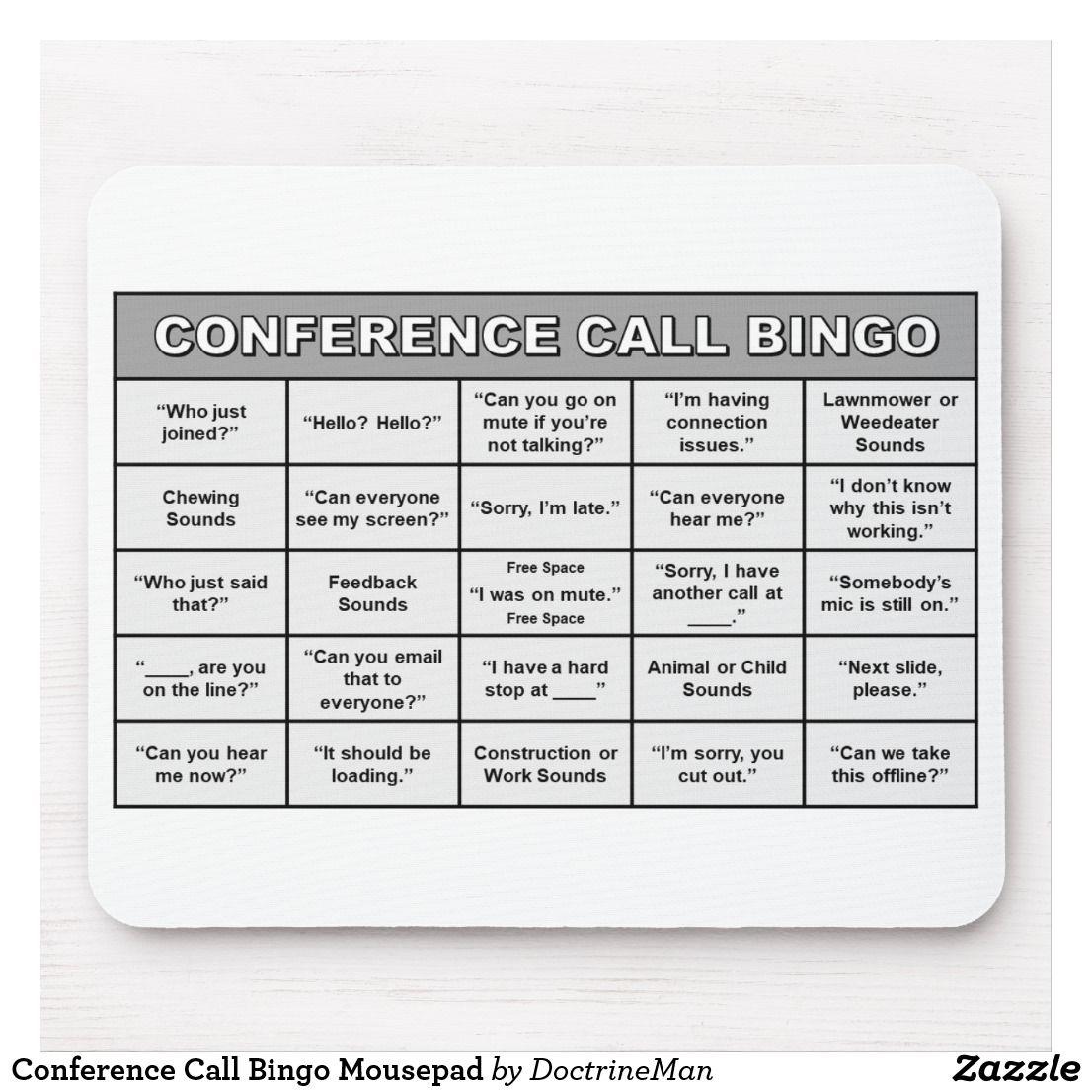 Virtual Office Bingo