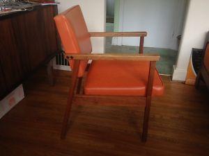 2 Mid Century Modern Chairs 1968