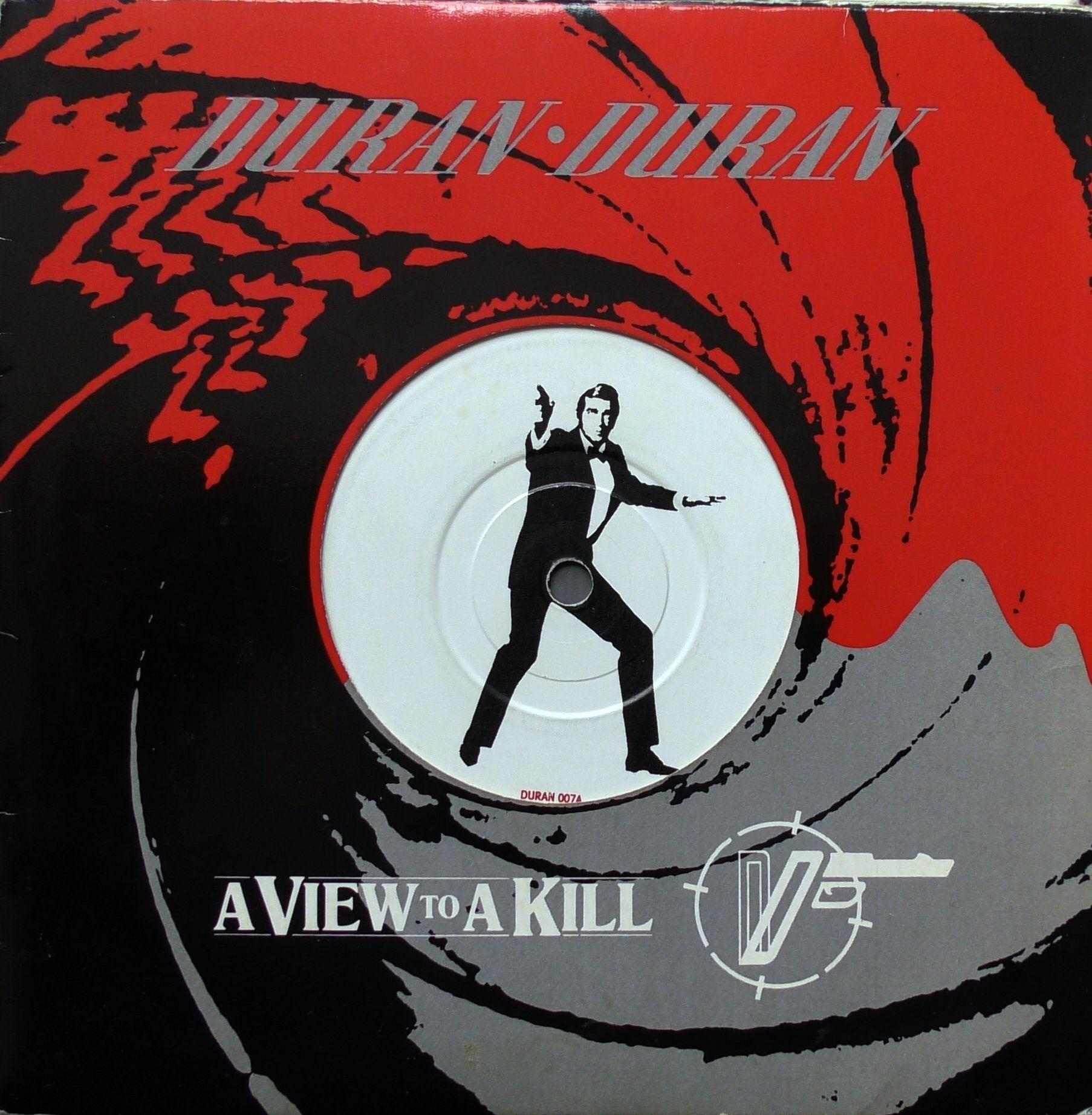 Duran Duran A View To A Kill Parlophone Duran 007 Plyta