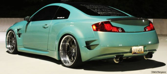 Sick Highly Tuned Veilside Widebody Infiniti G35 With Images