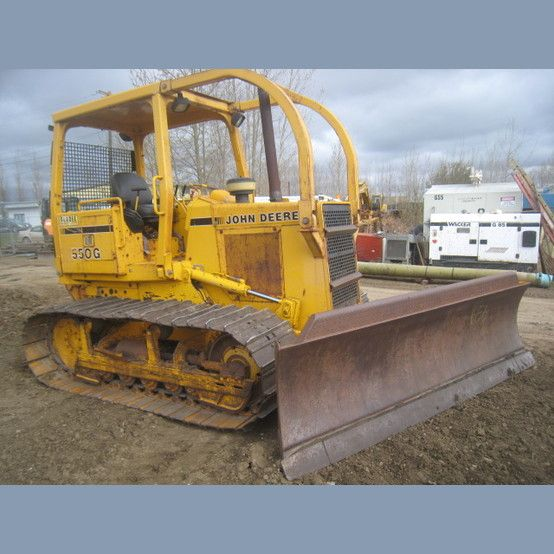John Deere 550G Dozer  Year: 1990  Hours: 3196  Comes with