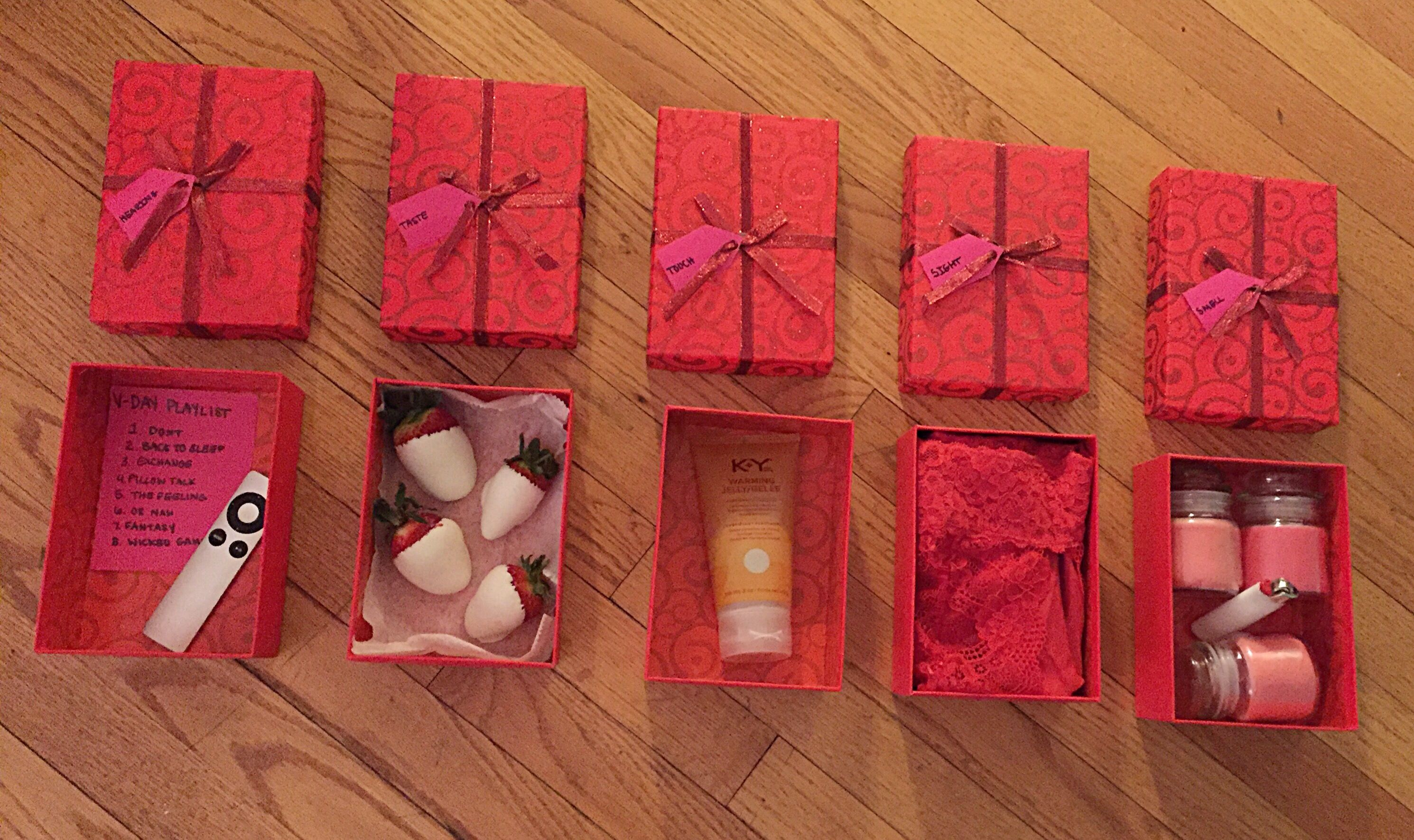 5 Senses Valentine's Day Gift | DIY | Pinterest