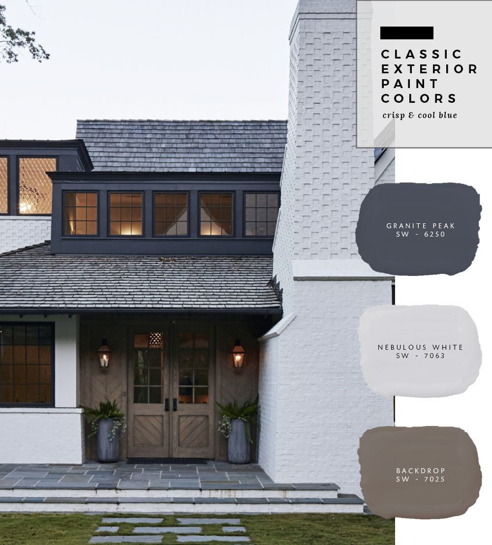 Pin By Lori Foster On Exterior Color Schemes In 2019 House Paint