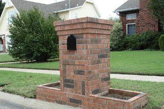 Brick Projects Brick Mailbox Mailbox Design Brick Projects