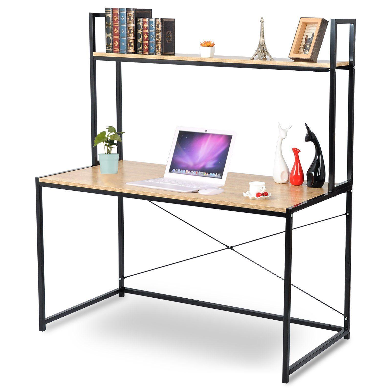 Woltu 2tier Shelves Modern Home Office