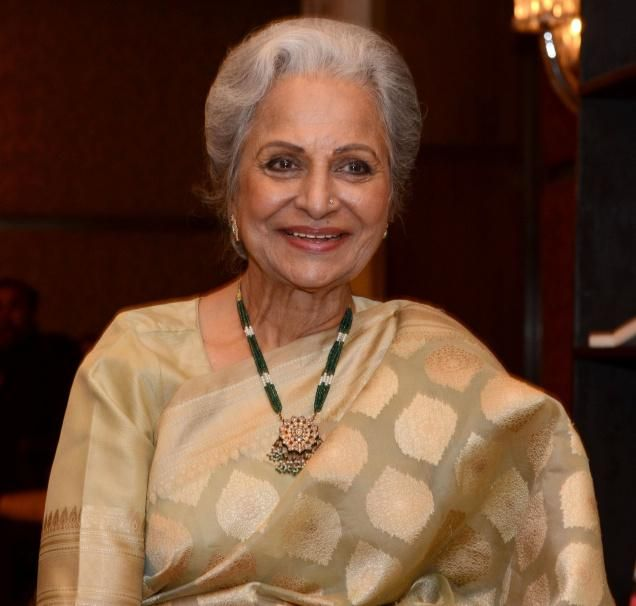 waheeda rehman family photos