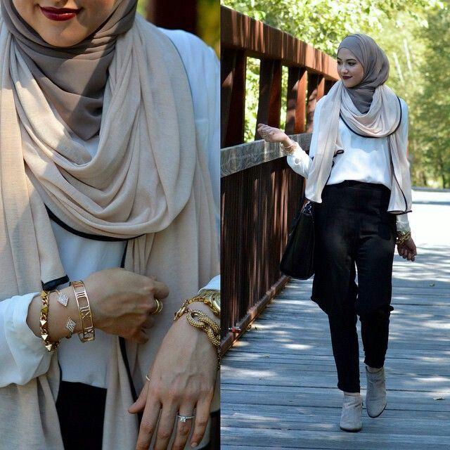 Très Hijab Fashion 2017 : Une sélection des meilleurs looks Hijab  AW39