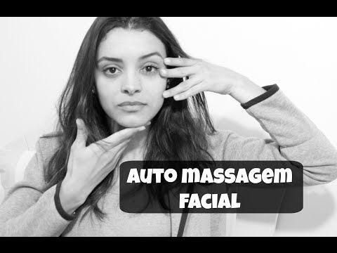 AUTO MASSAGEM FACIAL | DRENAGEM LINFÁTICA| QUASE UM VÍDEO DE ASMR :) - YouTube