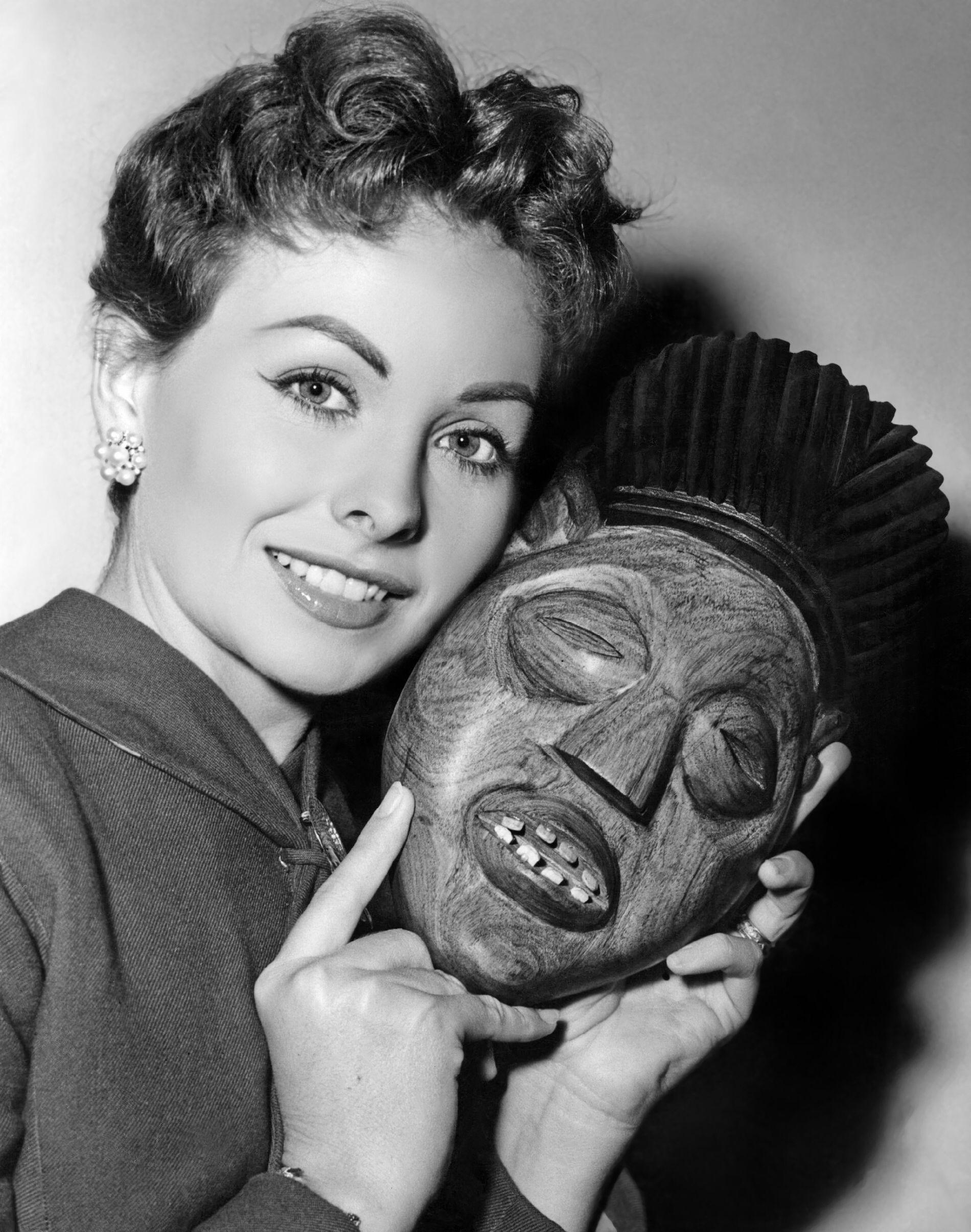 Jeanne Crain in Duel in the Jungle 1954