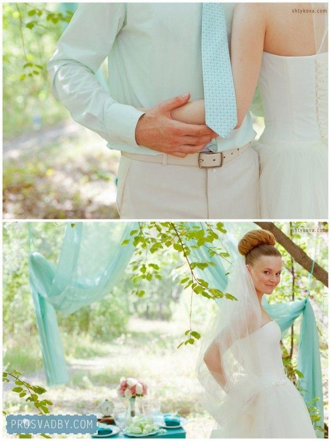 Свадьба Велосвадьба в бирюзовом: Алексей и Евгения IZюмIнKа (16)