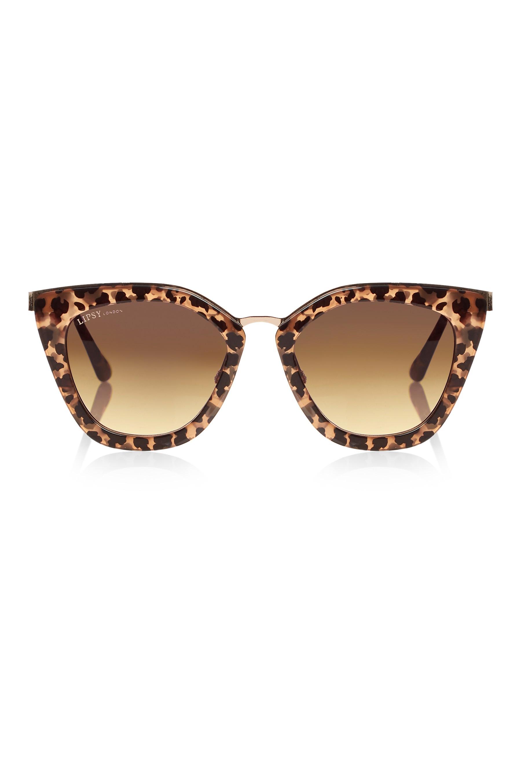 c15cb32f2047 Womens Lipsy Tortoise Shell Cat Eye Sunglasses - Black in 2019 ...