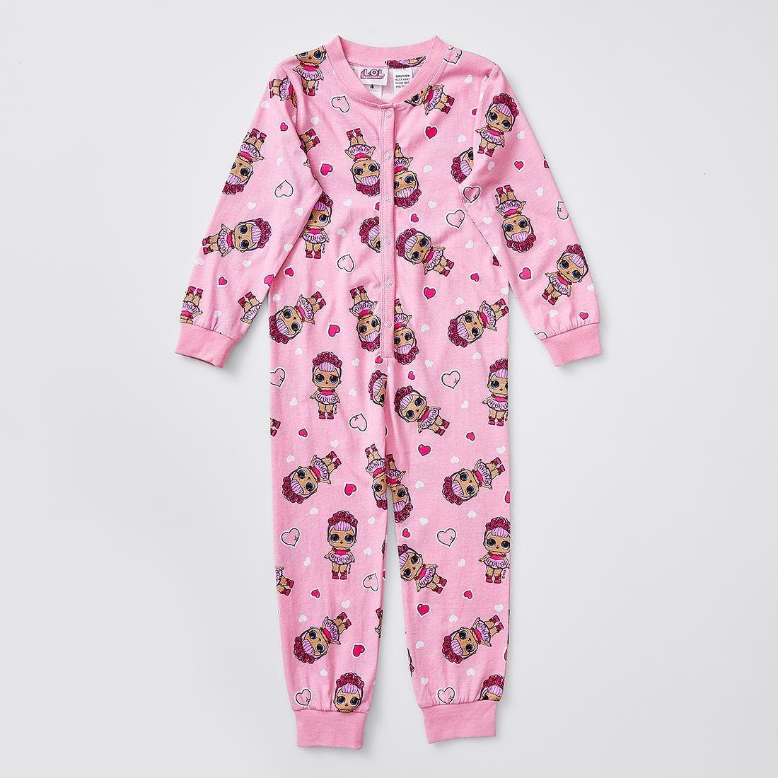 L.O.L. Surprise! Print Sleepsuit Print, Kids sleepwear