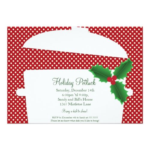Holiday potluck dinner party invitations 2017 christmas party how to plan a holiday party on a budget by hosting a holiday potluck cookie swap and do it yourself holiday decorations and decor fab parties at low cost solutioingenieria Choice Image