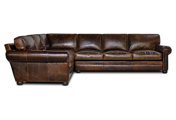 Mountain sectional sofa on onekingslanecom sectionals for Sectional sofa farmhouse