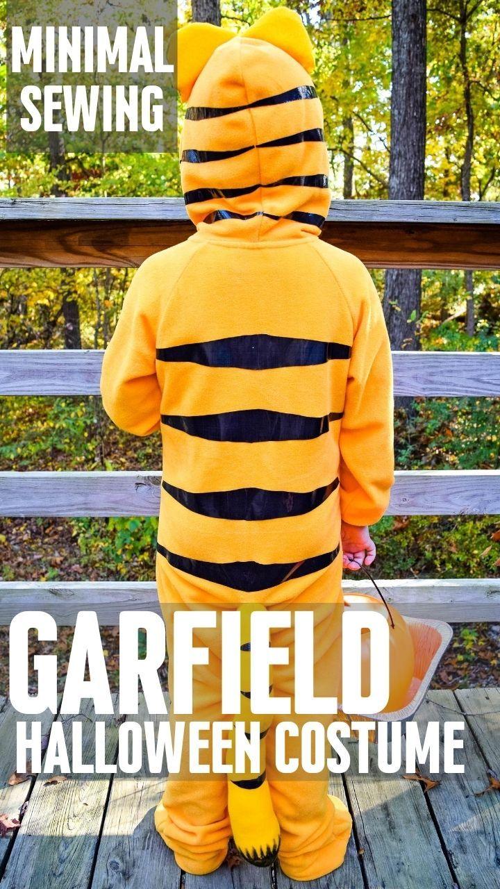Garfield Halloween 2020 Easy DIY Garfield Halloween Costume in 2020 | Garfield halloween