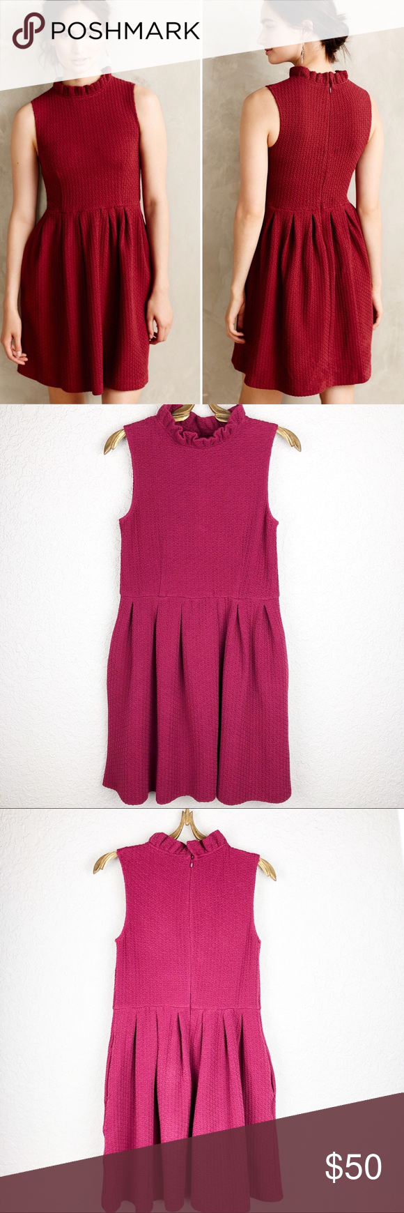 963c0966 Ganni dress Ganni Anthropologie Dresses | My Posh Closet | Dresses ...