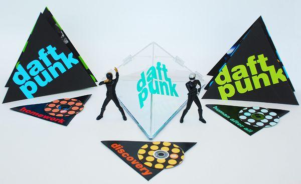 Daft Punk Pyramid Music Collection