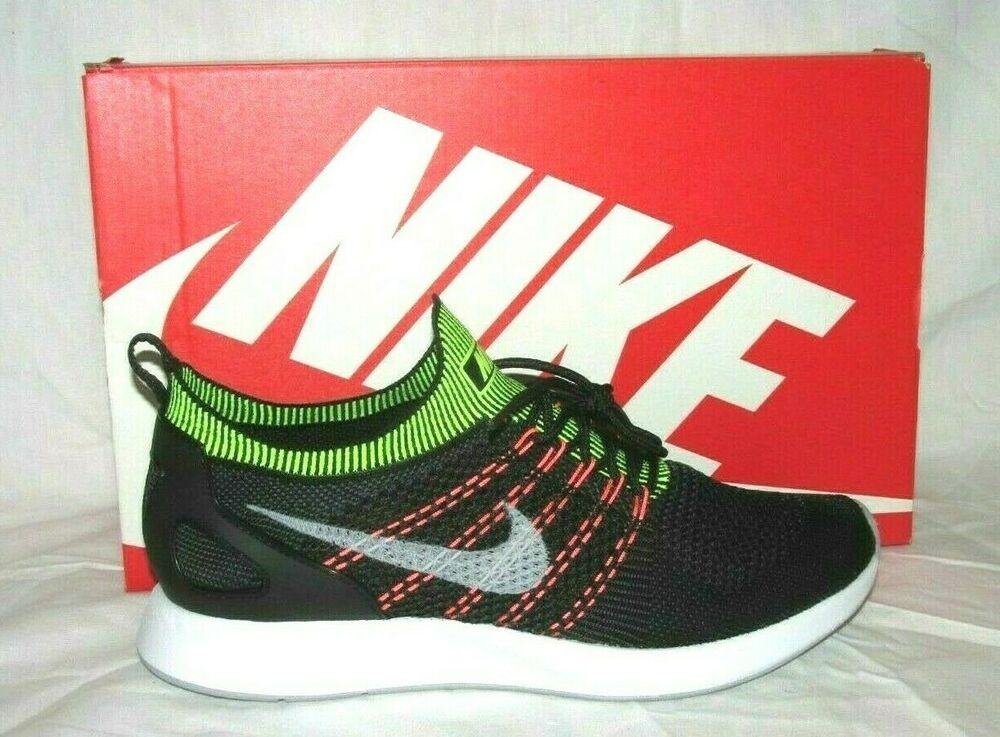 179f4e5815 Nike Air Zoom Mariah Flyknit Racer Mens Running Shoes Black Wolf ...