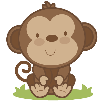 baby monkey svg cutting file monkey svg cut file free svgs free svg rh pinterest com baby monkey clip art images baby monkey cartoon clip art