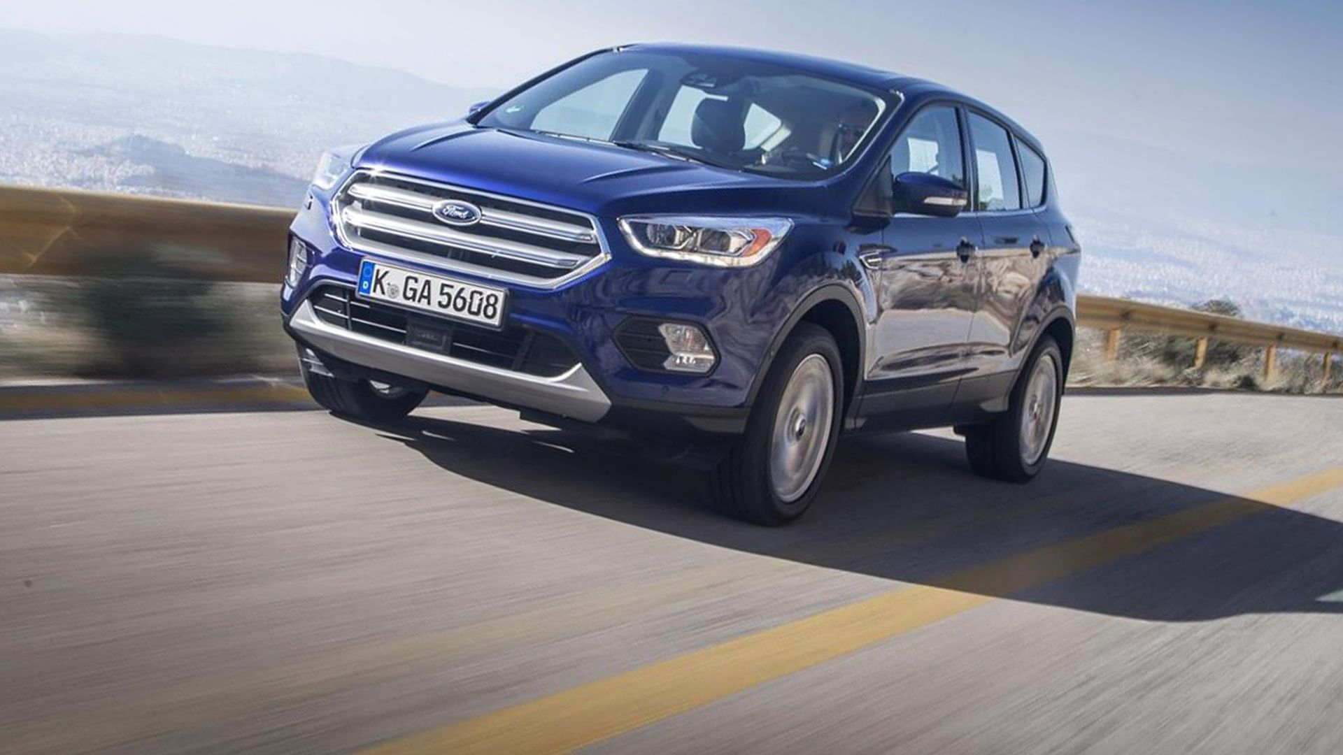 2019 Ford Kuga First Pictures Ford Kuga 2019 Ford One Pic