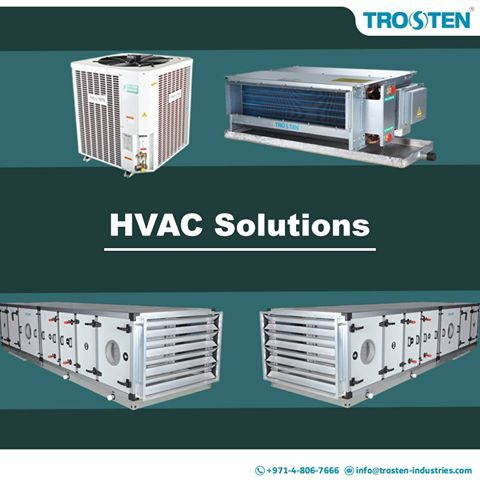 Trosten Industries Is A Leading Ac Equipment Manufacturer In Uae