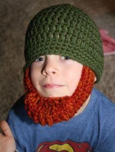 7abf19af458 Bearded Beanie Crochet Pattern Free