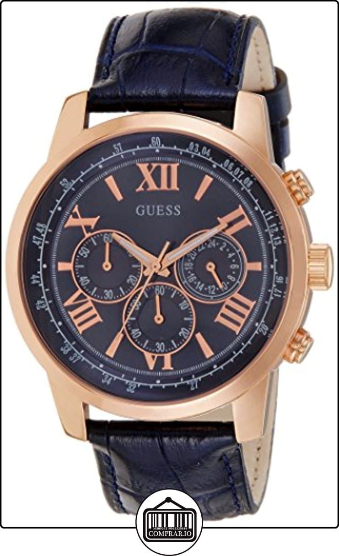 Relojes W0380g5 Lujo ✿ Reloj Guess HombreColor Azul Para De tdCrshQ