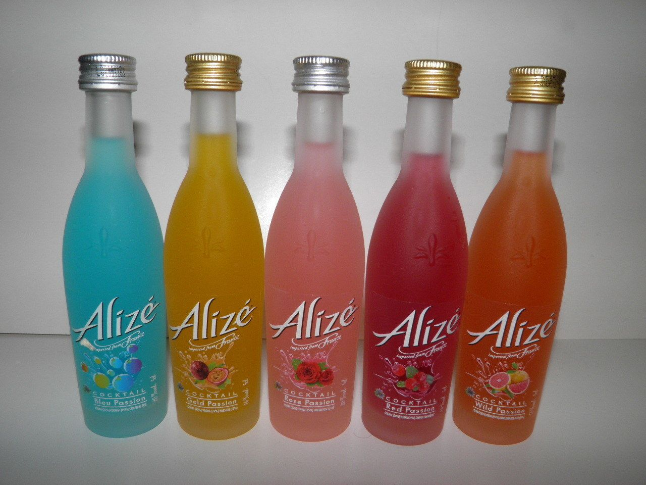 Alize Mini Liquor Alcohol Bottles Smoothie Drinks Alcohol Bottles Alcohol