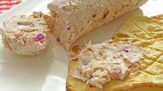 Rollo de queso con atun
