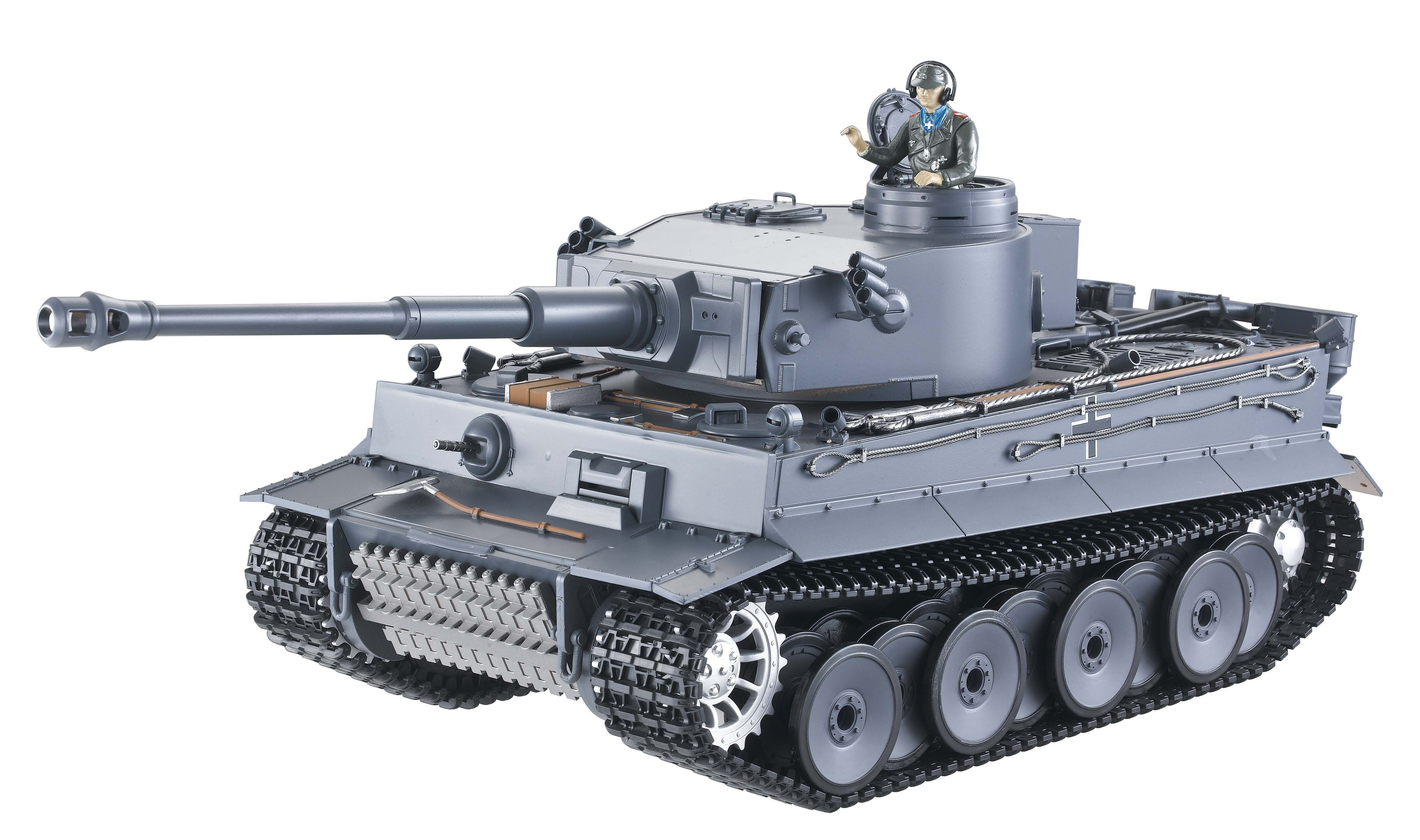 Taigen Hand Painted RC Tank Tiger I 2.4GHz Rc tank