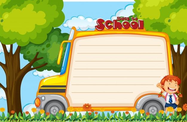 مدرسة كليب ارت بحث Google Cartoon School Bus School Bus Kids Frames