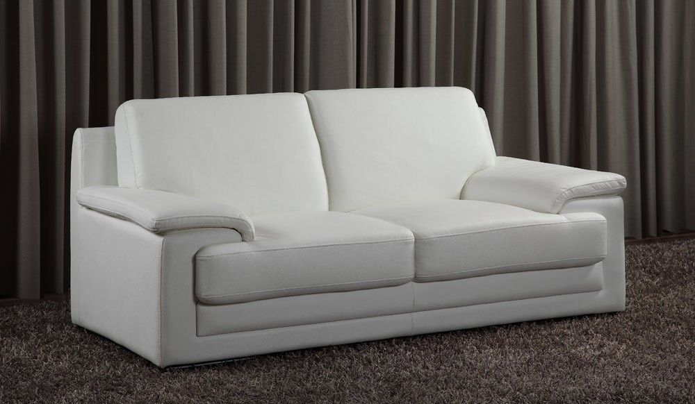 White Leather 2 Seater Sofa Best Collections Of Sofas And Couches Sofacouchs Com Best Leather Sofa Modern Sofa Sofa Colors