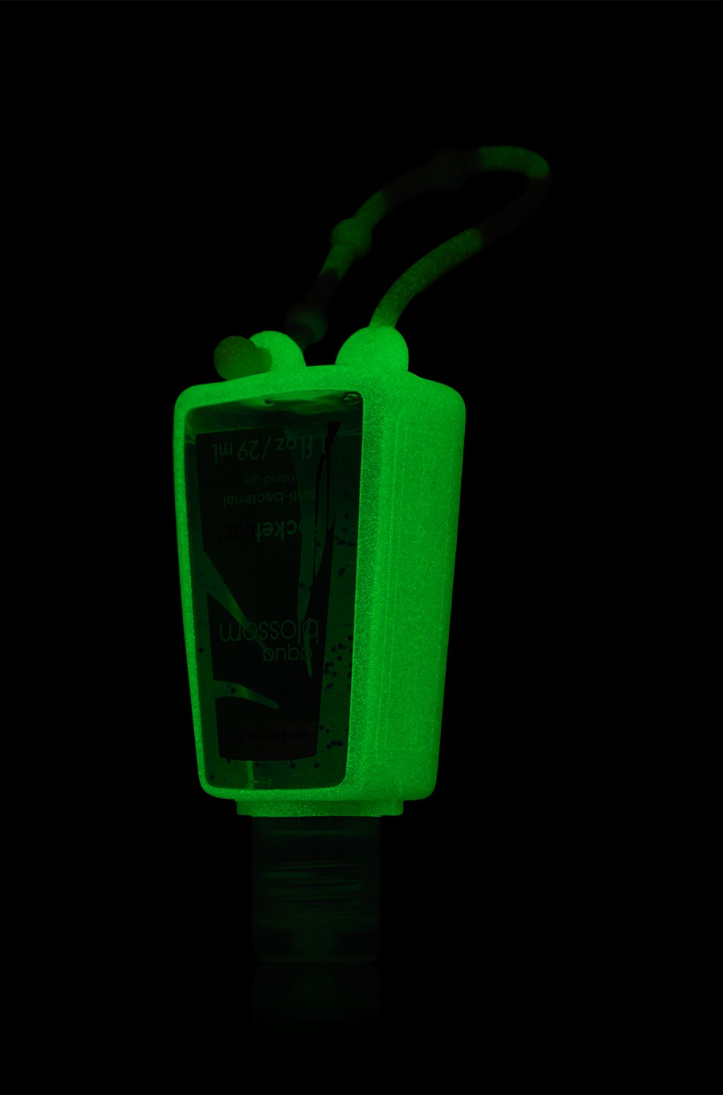 Turquoise Glow In The Dark Pocketbac Holder Bath Body Works