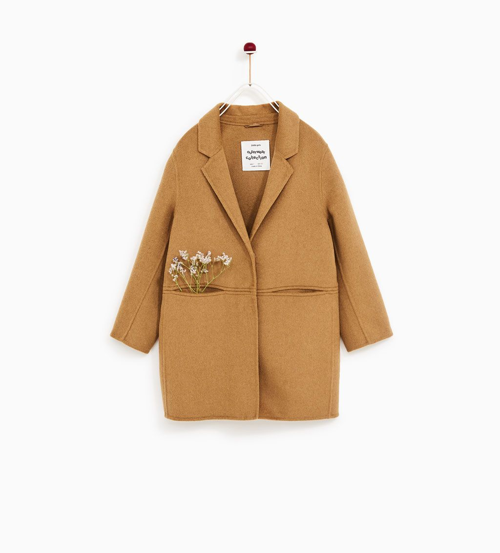 superior materials best sneakers official shop Image 1 of MASCULINE COAT from Zara | To buy | Zara kids ...