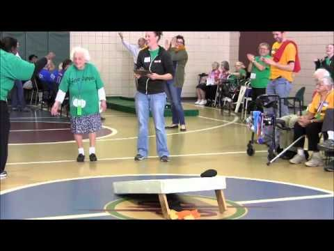 Fun and friendly competition for seniors: Senior Olympics! Mental events like a spelling bee and physical events like bowling inspire unity and encourage friendships! #ActivitiesForSeniors