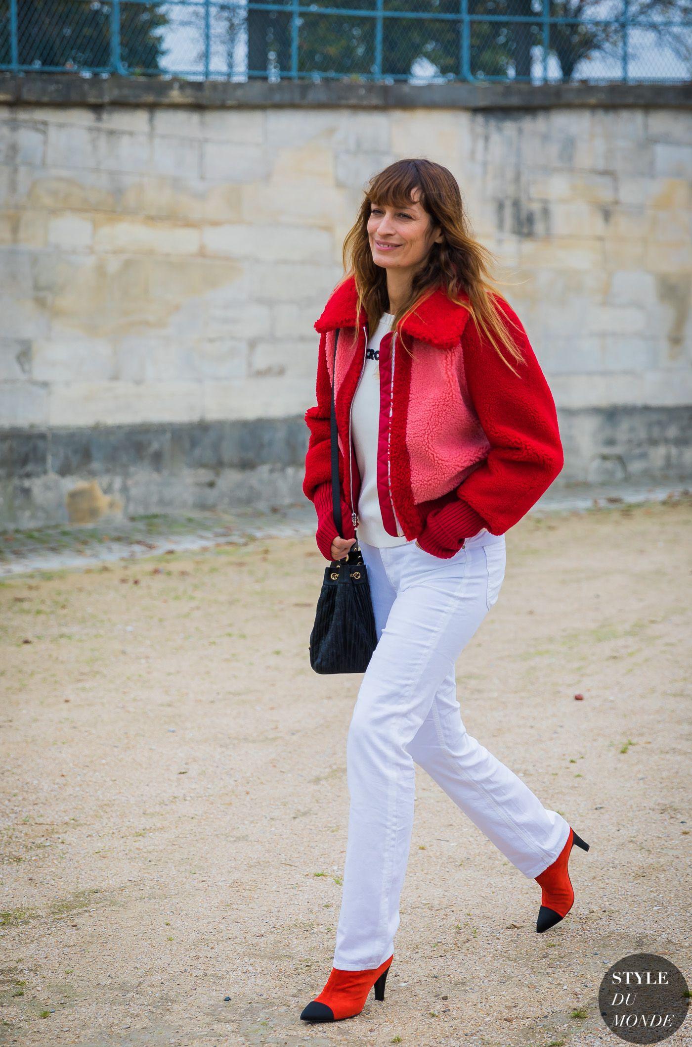 Paris SS 2018 Street Style  Caroline de Maigret 42eea59a543