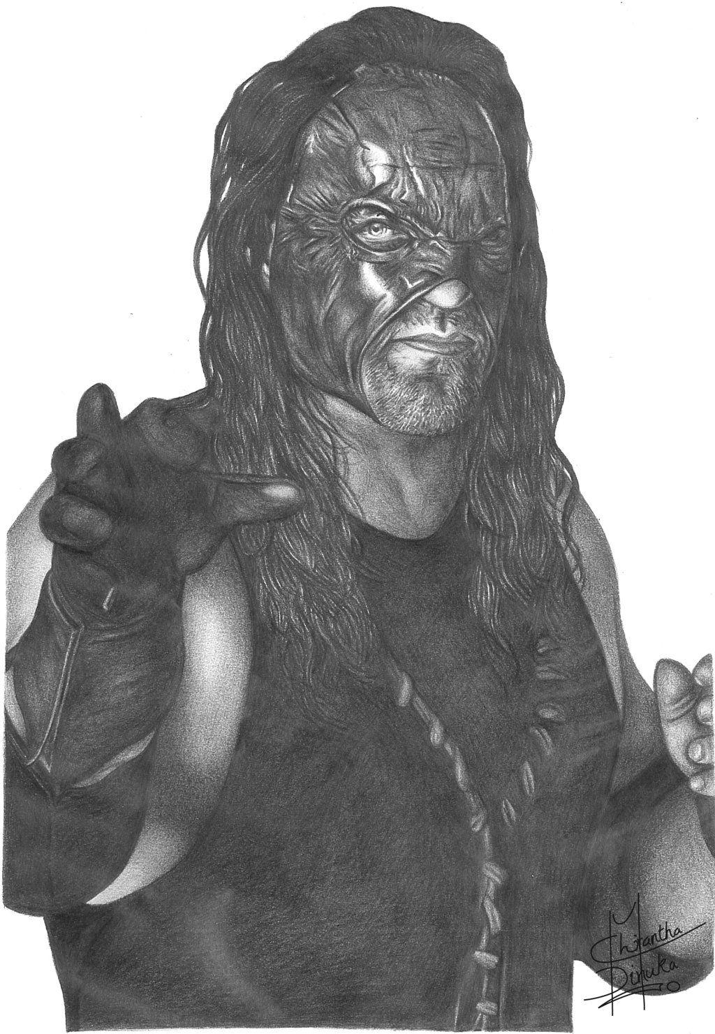 Kane by Chirantha. | WWE | Pinterest | WWE, Desafíos y Dibujos de