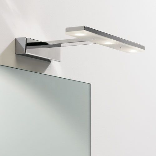 Bathroom Mirror Lights led adjustable over mirror light for the modern bathroom. | crafty