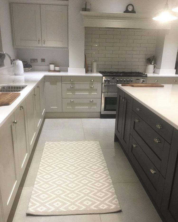 Best Ammonite Cupboards With White Worktops Kitchen Decor 400 x 300