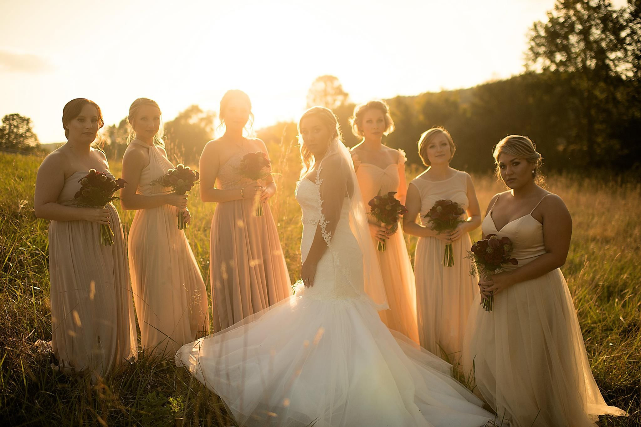 Rustic Barn Wedding Bridal Party September Photograhy Derringdophotography